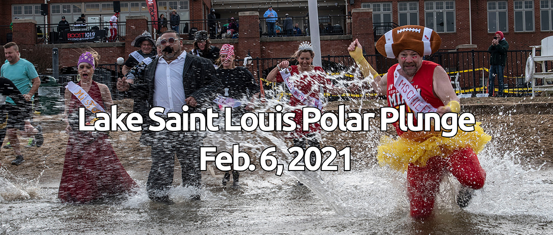 2021 Lake Saint Louis Polar Plunge banner