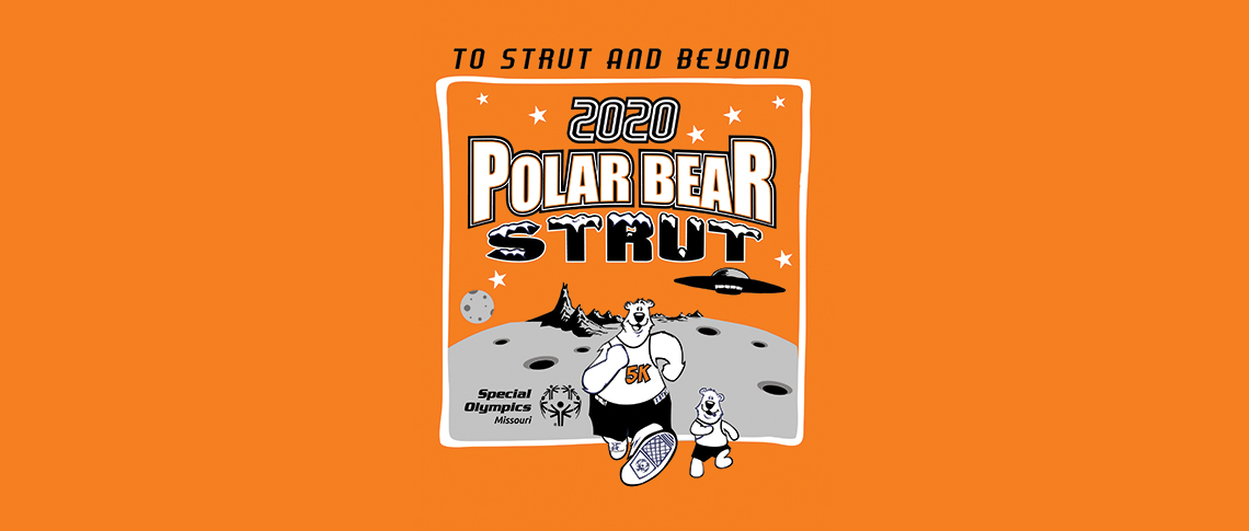 Polar Bear Strut logo slide